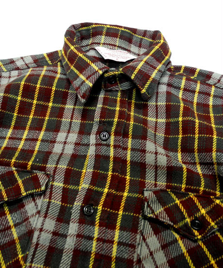 80's Frostproof Plaid Flannel shirt[C-225]