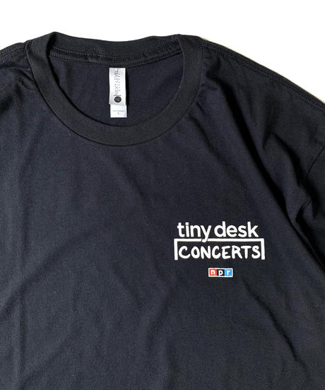 NPR Tiny Desk Concerts T-Shirt Black