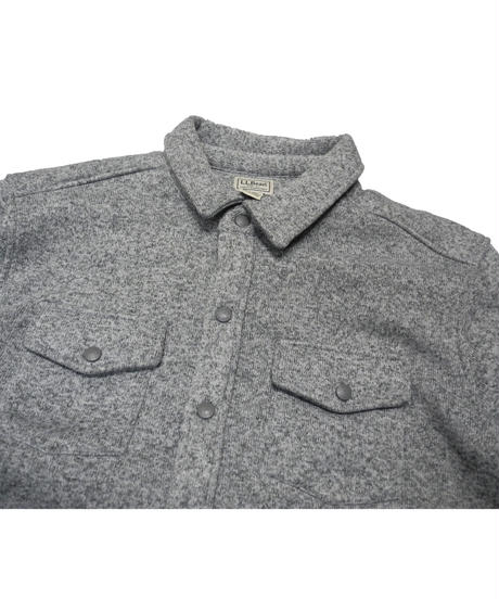 2000's L.L.Bean Fleece Shirt Jacket [C-0005]