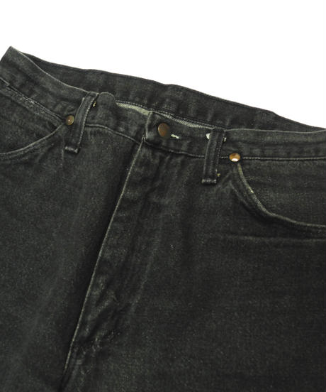 90s Wrangler Denim Pants Black[C-0053]