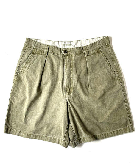 90s Banana Republic Canvas Front Pleat Shorts