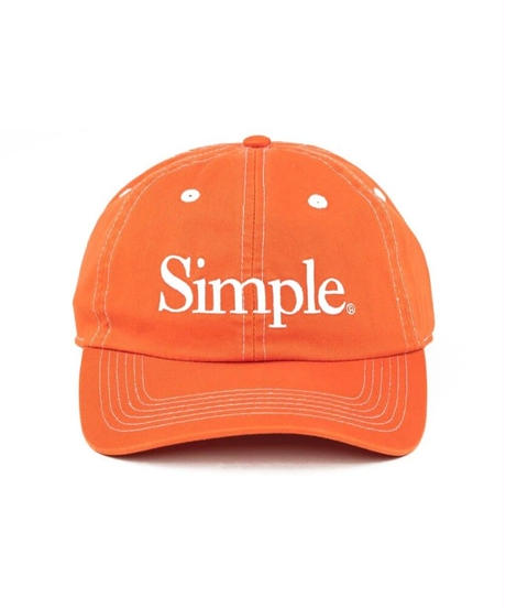 Simple Cap Orange