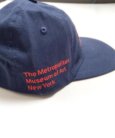 THE MET Logo Cap Navy