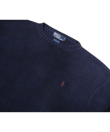 90's Polo Ralph Lauren Cotton Knit Sweater [C-0081]