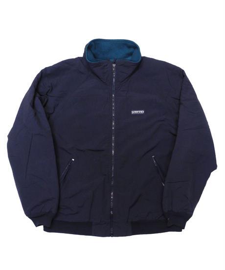 90's Lands' End Fleece Lined Nylon Jacket  [C-0154]