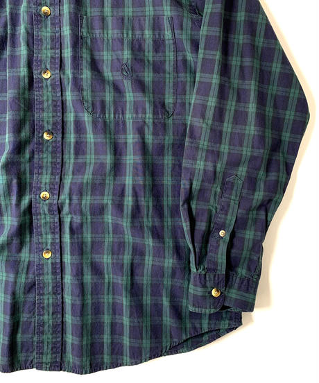 90s Nautica Blackwatch Longsleeve Shirt