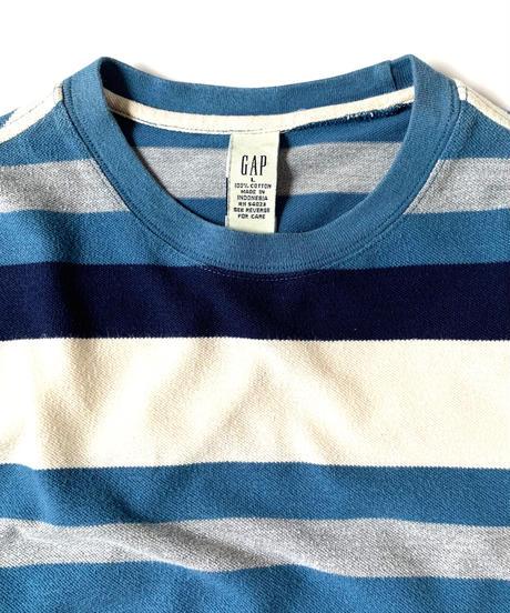 90s Gap Pique Striped Shortsleeve T-Shirt