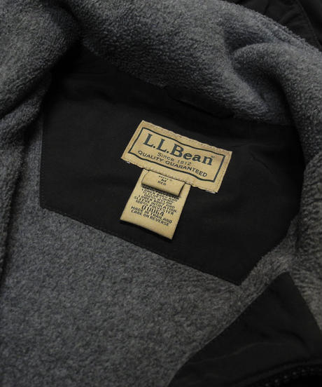 90's L.L.Bean Fleece Lined Nylon Jacket  [C-0157]