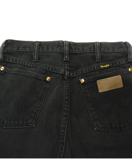 90s Wrangler Denim Pants Black[C-0052]