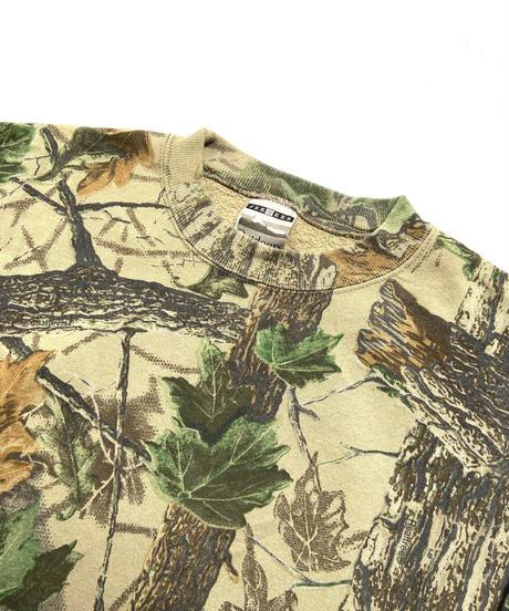 2000s Jerzees Real Tree Camo Crewneck Sweatshirt (XXL)