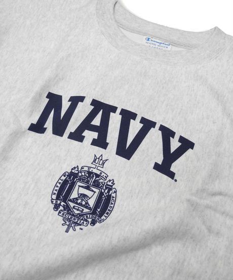 Champion Reverse Weave Usna Issue Crew Neck Sweat Shirt