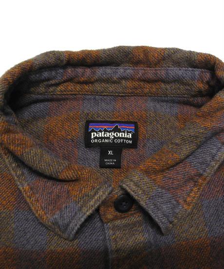 00's Patagonia Plaid Flannel shirt[C-220]