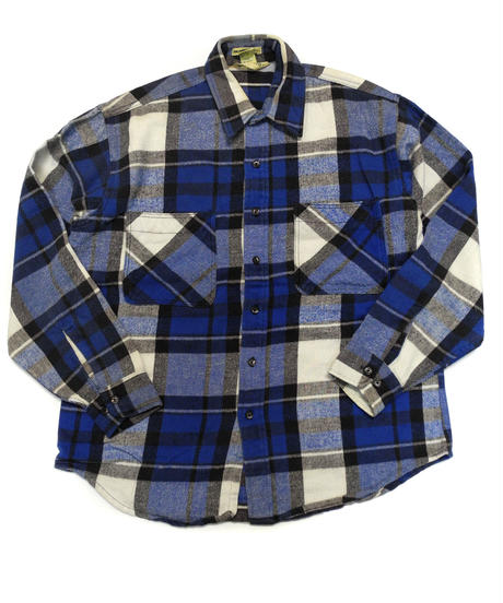 90's St.John's Bay Big Mac Plaid Longsleeve Flannel shirt[C-211]