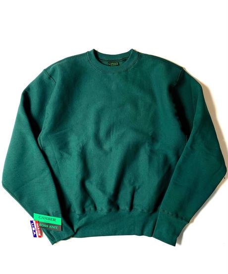 Camber Sportswear Cross-Knit Heavyweight Sweatshirt Green