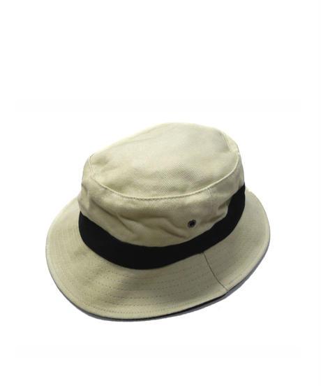 Knp Headwear Brushed Cotton Hat Khaki/Black