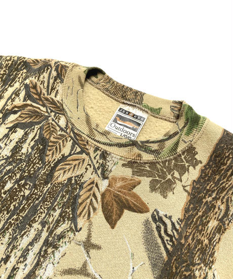 2000s Jerzees Real Tree Camo Crewneck Sweatshirt (L)