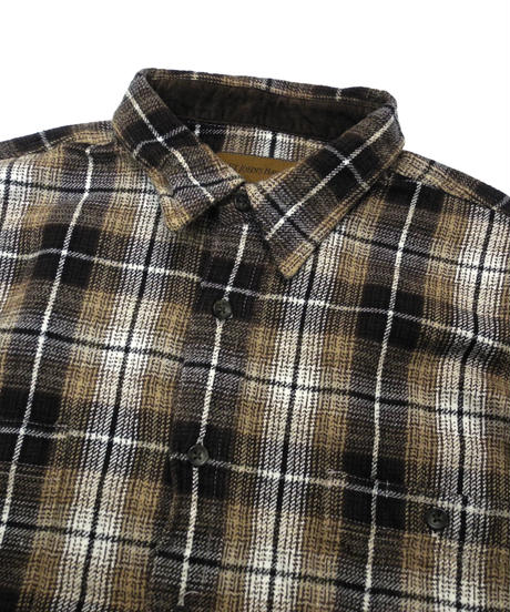 90's St.John's Bay Plaid Longsleeve Flannel shirt[C-236]