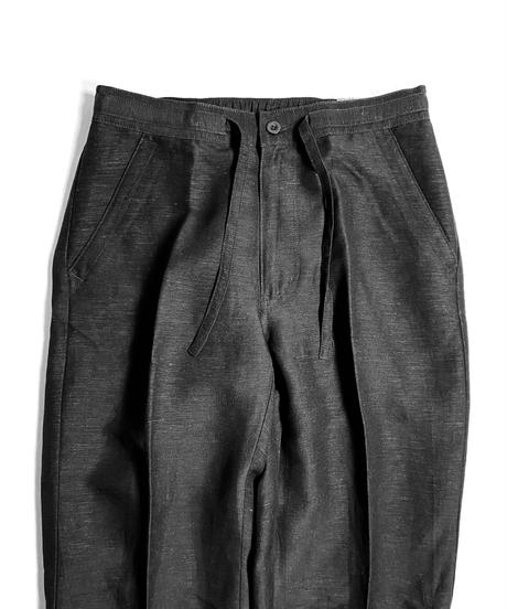 Cubavera Linen Brend Draw String Pants Black