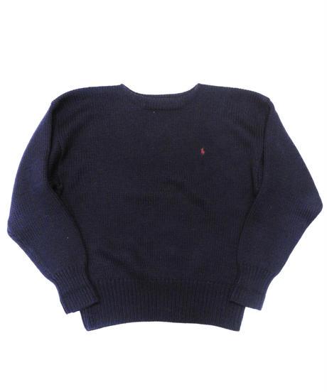 90's Polo Ralph Lauren Wool Knit Sweater [C-0182]