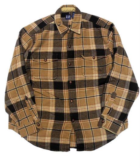 90's Gap Plaid Wool shirt[C-224]