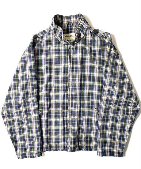 90s Eddie Bauer Cotton Plaid Jacket