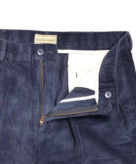 Wide Wale Corduroy Pants Navy