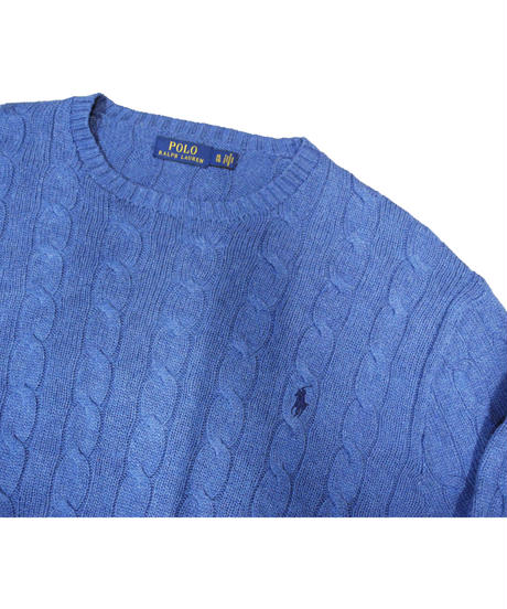00's Polo Ralph Lauren Cotton Knit Sweater [C-0075]