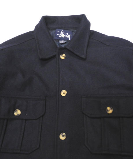 90's~  Old Stussy  Wool Jacket  [C-0178]