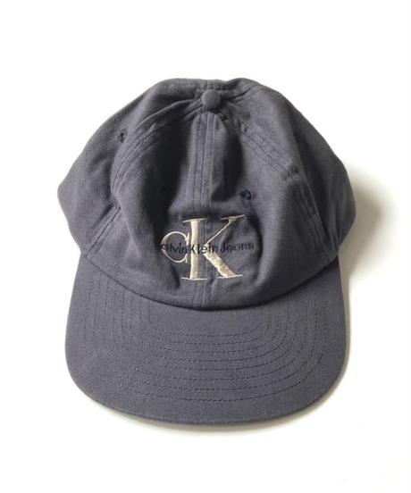 90s NOS Calvin Klein Jeans 6panel Cap Charcoal