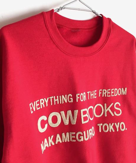 Book Vendor Sweatshirt( Logo/Red)