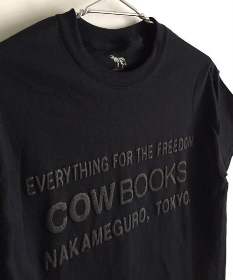 Book Vendor T-shirts (Logo /Black×Black)