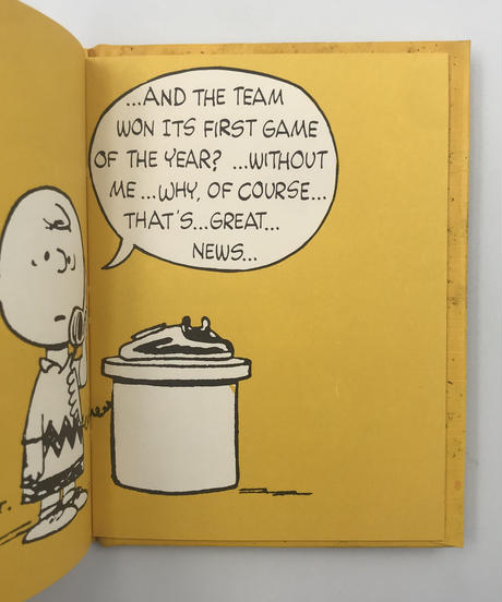 Title/ Thoughts on Getting Well  Author/ Charles M.Schulz