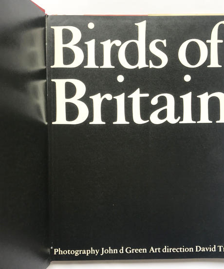 Title/ Birds of Britain     Author/ John d Green