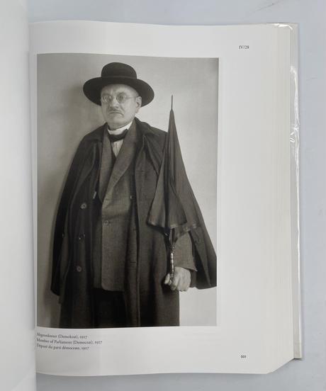 Title/ Menschen des 20.jahrhunderts  Author/ August Sander