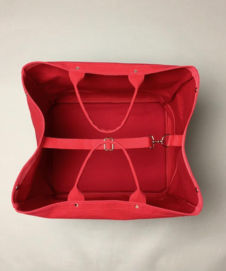 Container Big  (Red × Ivory)