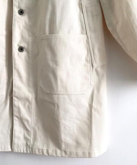 Book Vendor Coat (Shop Coat/ Natural ×Red)