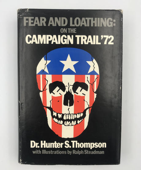 Title/ On The Cam- paign Trail'72  Author/ Dr.Hunter  S.Thompson
