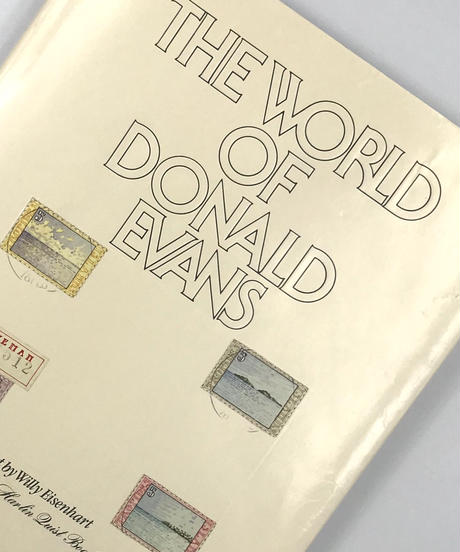 Title/ The World of Donald Evans     Author/ Donald Evans