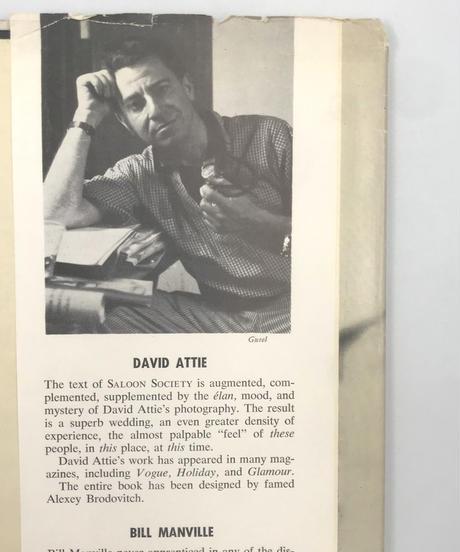 Title/ Saloon Society  Author/ Bill Manvill