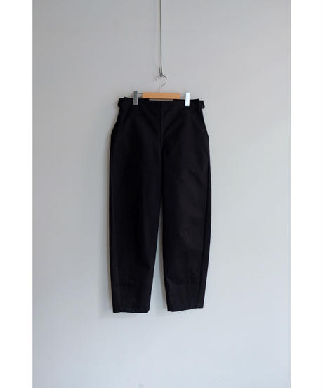 THE HINOKI / Organic Cotton Chino Cloth OSFA Pants / col.BLACK / size.4
