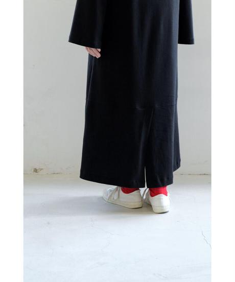 THE HINOKI / Organic Cotton Pullover Dress / col.BLACK