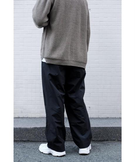 S.F.C  / STRAIGHT PANTS NYLON / col.BLACK
