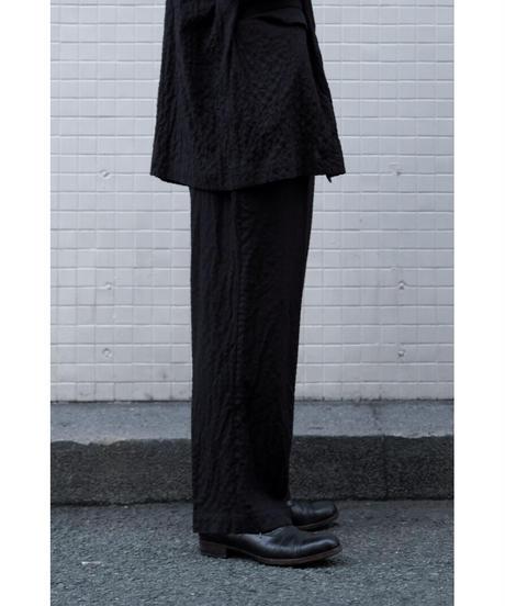 YOKO SAKAMOTO / CLASSIC TROUSERS / col.BLACK