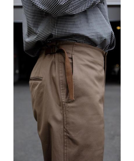 un/unbient / プルパンツ(STANDARD) / col.german brown
