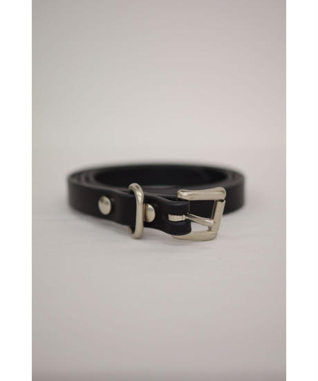 yoko sakamoto / LEATHER BELT SLIM / UNISEX