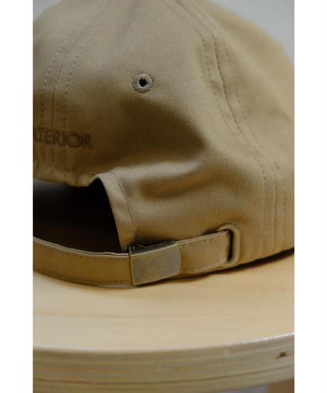 ULTERIOR / BIZEN NO.1 TWILL 6 PANELED CAP / col.BEIGE
