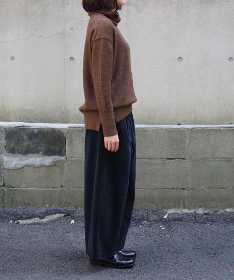 Vlas Blomme / Corduroy ワイドパンツ / col.BLACK / Lady's / size.2
