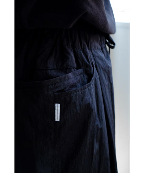 S.F.C / TAPERED EASY PANTS / col.BLACK