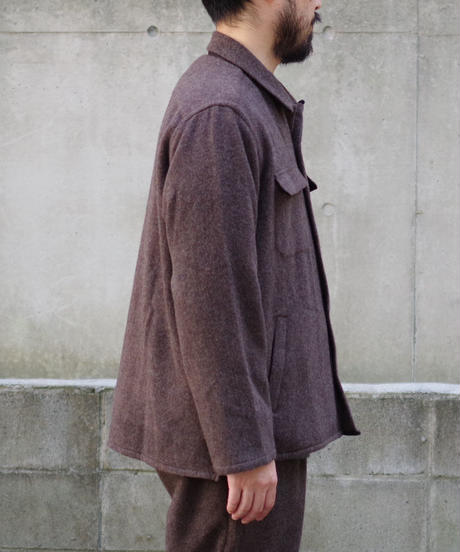 comm.arch. / Geelong Lamb's Shirt  / col.Sandalwood