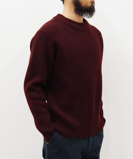 bunt / 5G GRANDFATHER SWEATER / col.ブラウン / size 2